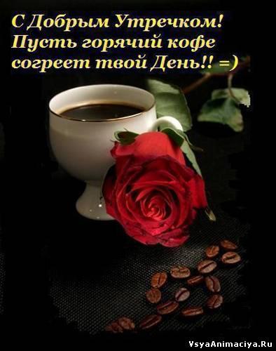 Открытка доброе утро с добрым