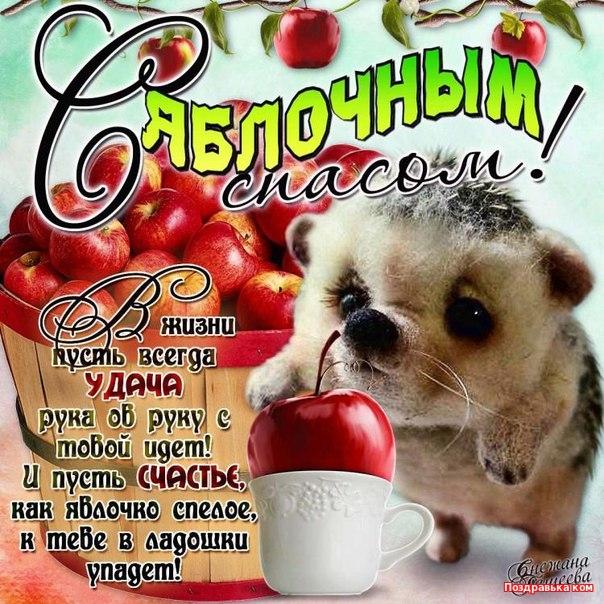 открытки яблочный спас фото